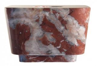 Rare Lid Kamenná koncovka na 2,5 l difuzér - mramor ROSSO FRANCIA, 1 ks